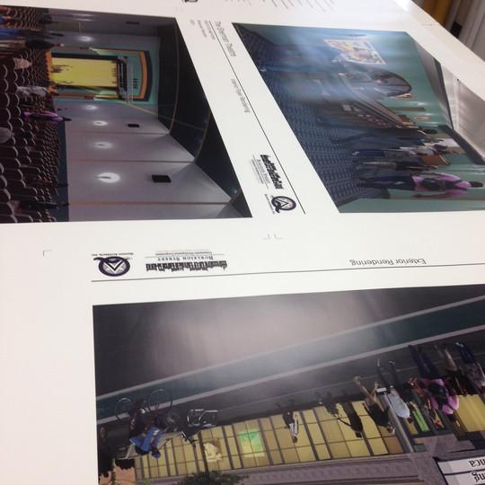 Foam board prints