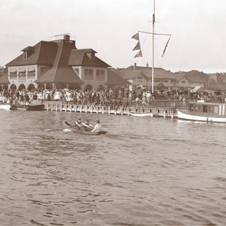 Regatta in the Bay