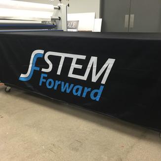 Stem Forward table throw