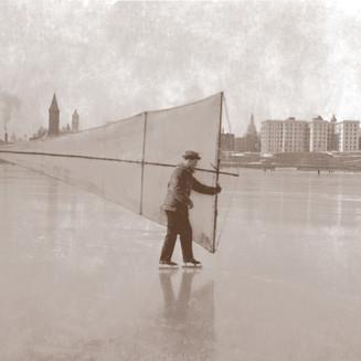 Skating with Sails