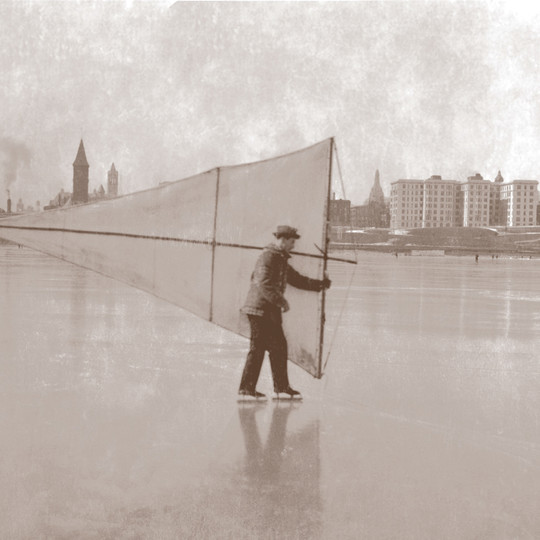 Skating with Sails