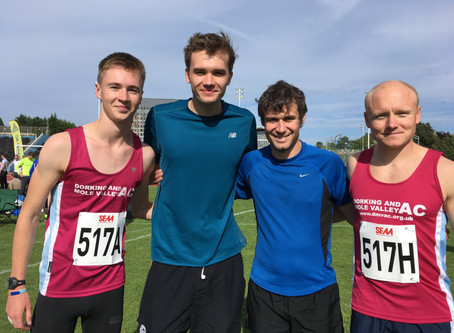 Reigate Relays: Final details for those Running Tomorrow!