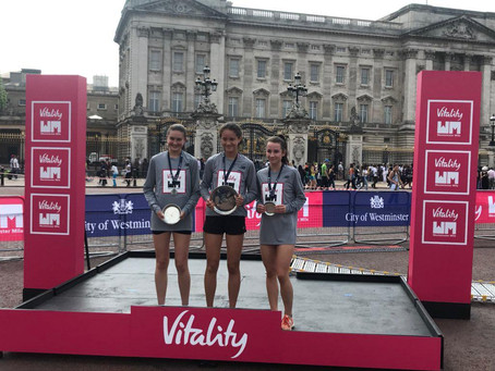 Elsa wins Vitality Westminster Mile!