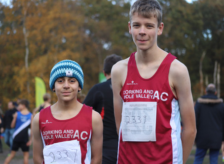 Surrey XC League Boys! Updated with Results!