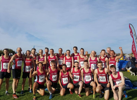 Surrey XC champs at Lloyd Park, Croydon tomorrow!