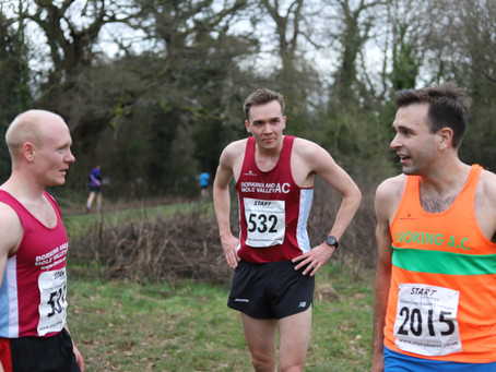 Surrey League XC - Senior Men - Yesterday!
