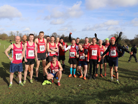 Men's cross country at Richmond Park - Saturday 12 October - 3pm Start