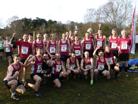Surrey League XC Match  - 13th October 2018