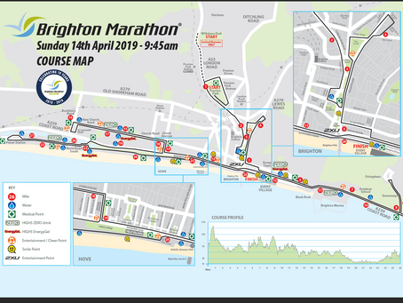 Brighton & London Marathoners & Supporters - Good Luck to All!
