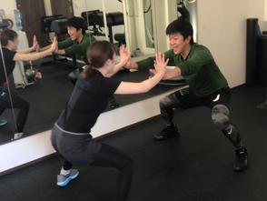 グループトレーニングクラス開始!!