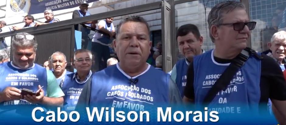Associação dos Cabos e Soldados de SP mostra sua força em manifestação a favor dos inativos