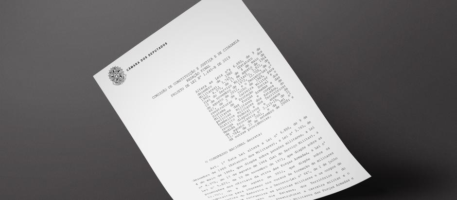 Câmara dos Deputados publica a redação final do PL 1645/19
