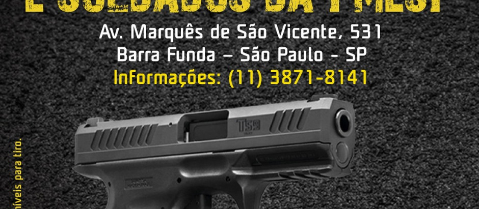 Associação dos Cabos e Soldados de SP vai sediar exposição de armas da Taurus
