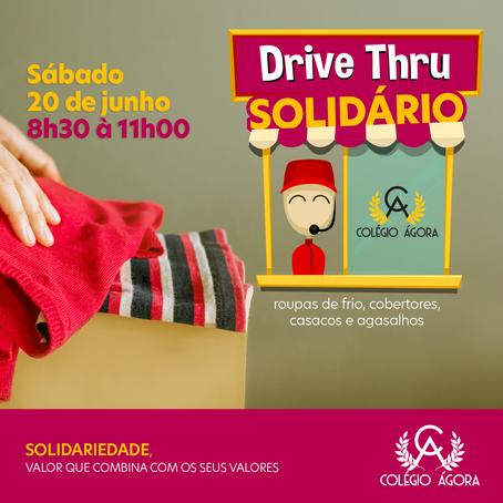 Drive-Thru SOLIDÁRIO.  Participe!