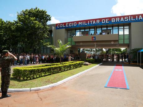 Colégio Militar de Brasília anuncia vagas para dependentes de policiais militares