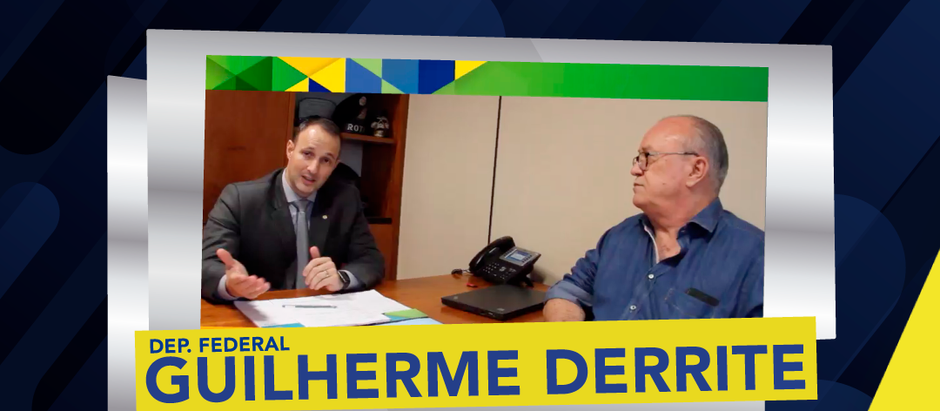 TV AMEBRASIL entrevista Dep. Federal Guilherme Derrite