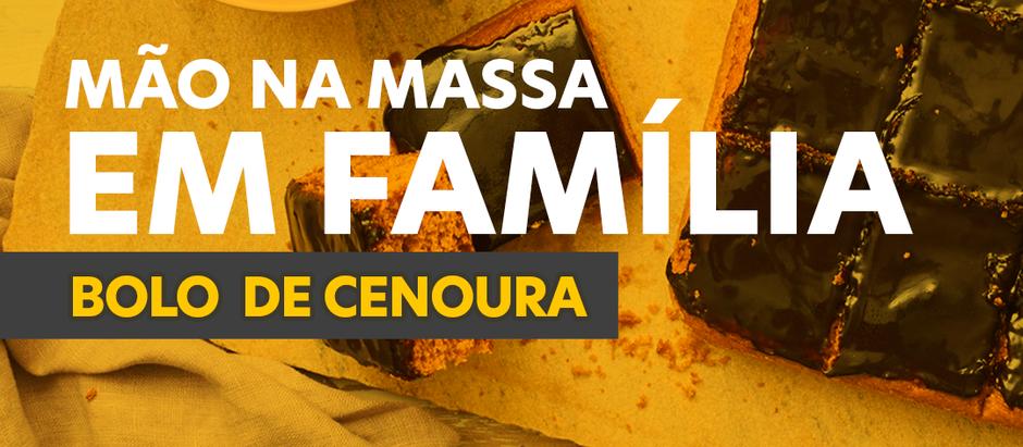 Dia da Família com sabor de bolo de cenoura