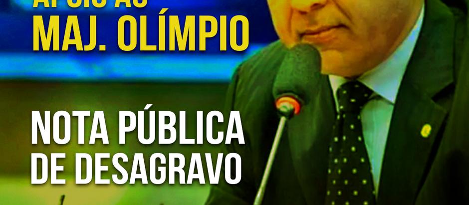AMEBRASIL emite nota pública em defesa do Senador Major Olímpio