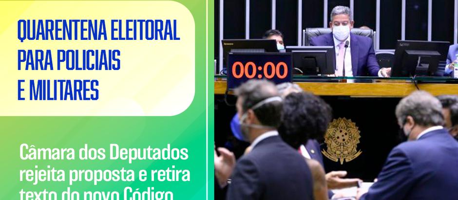 Novo Código Eleitoral: Câmara rejeita Quarentena para Militares