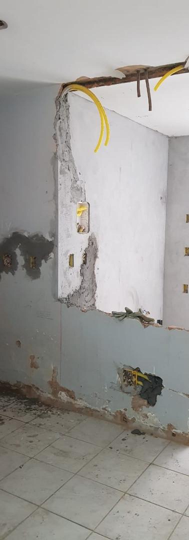 Interior dos apartamentos