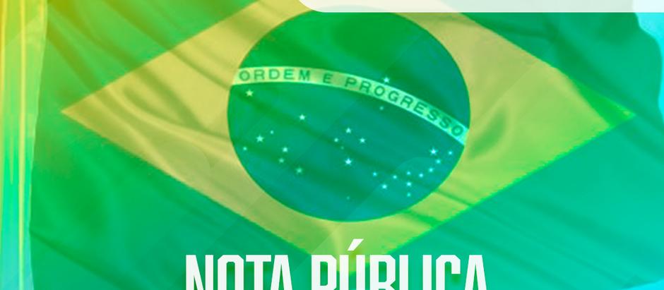 Nota Pública: É LEGÍTIMA TODA REUNIÃO PACÍFICA DE POLICIAIS E BOMBEIROS MILITARES