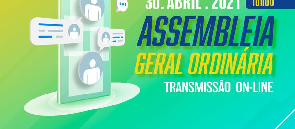Assembleia Geral Ordinária com eleição e outros assuntos ocorrerá no dia 30 de abril