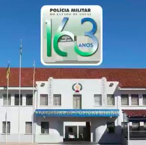 Video homenageia os 163 anos da Polícia Militar de Goiás