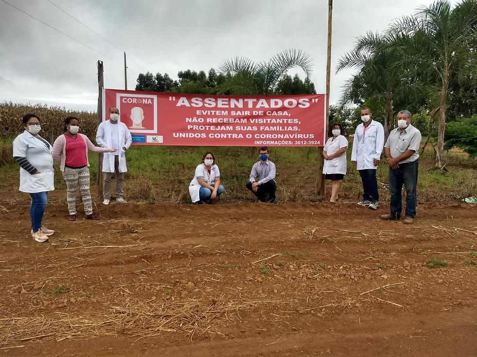 Comissão de Enfrentamento orienta líderes dos onze assentamentos de Cristalina