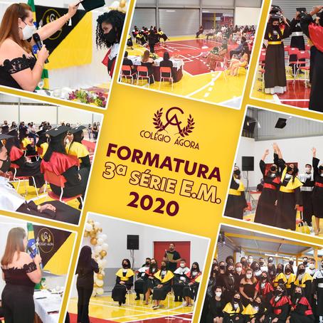 Formatura 2020 - 3º ano Ensino Médio