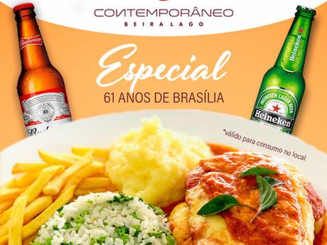 Restaurante Contemporâneo realiza promoção para comemorar o Aniversário da cidade
