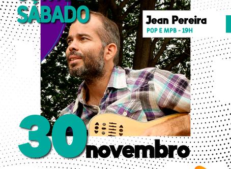 Jean Pereira vai mandar bem o SOM DE SÁBADO