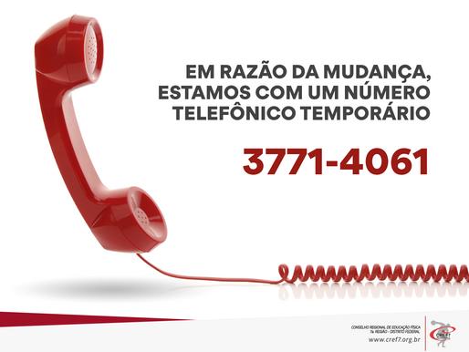 Número Telefônico Temporário
