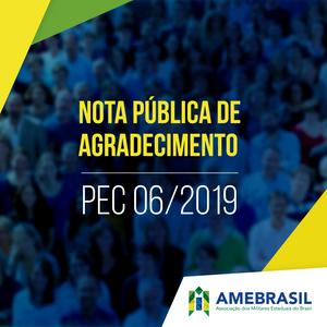 PEC 026/2019 Nota Pública