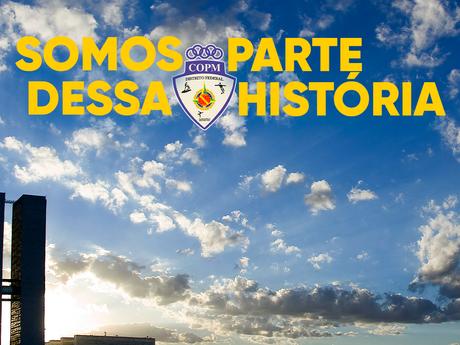Obrigado por nos acolher, Parabéns Brasília!