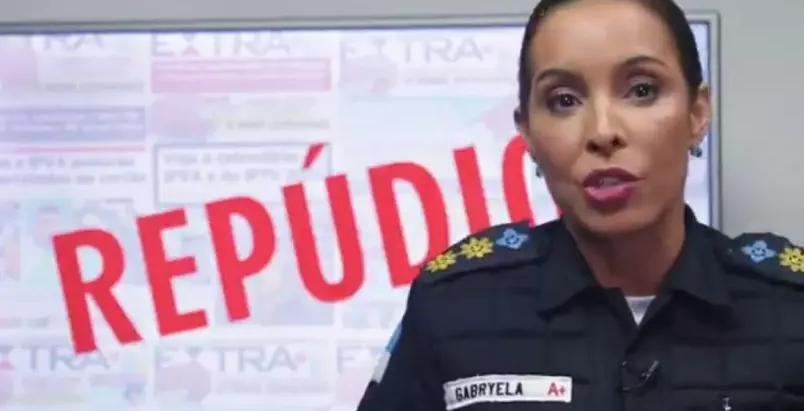Porta-voz da PM do RJ exonerada após atacar repórter assume Batalhão do Leblon