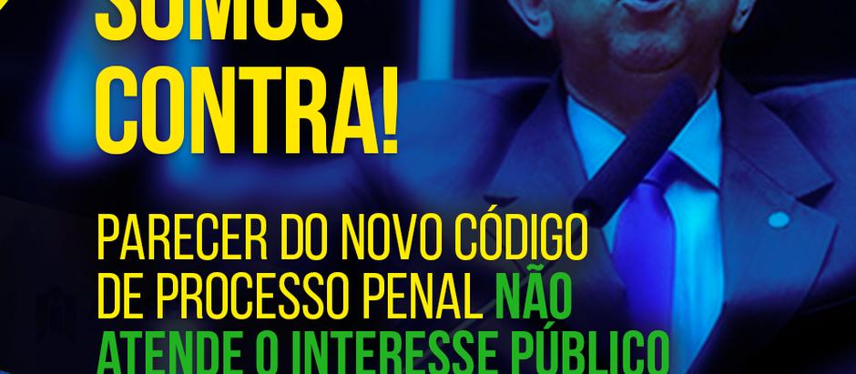 AMEBRASIL: Somos contra! Parecer do novo Código de Processo Penal não visa o interesse público