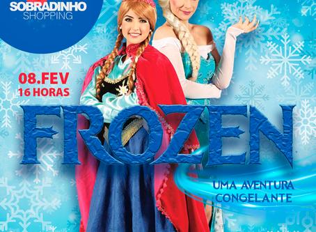 """Espetáculo """"Frozen, uma aventura congelante"""" está de volta no dia 08"""