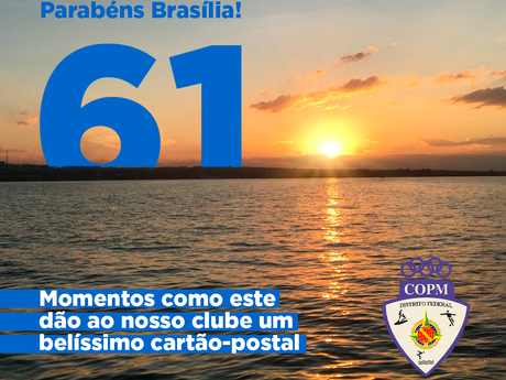 Obrigado Brasília por suas belezas e pelos momentos espetaculares que elas nos proporcionam