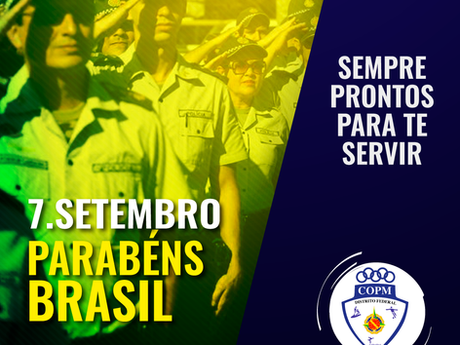 Parabéns Brasil!