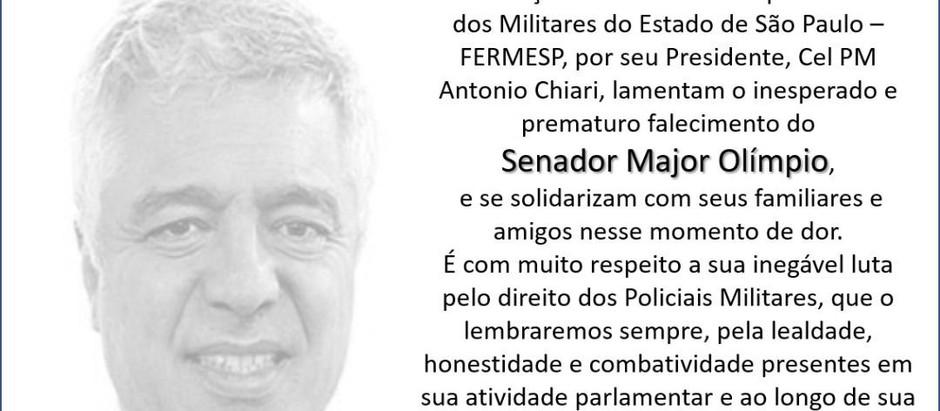 FERMESP faz homenagem ao Senador Major Olímpio