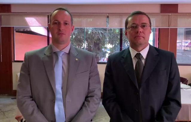 Cel. Nunes agradece Dep. Capitão Derrite pelo apoio aos PMs do DF no pedido de aumento salarial