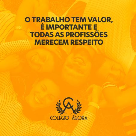1º de maio, dia para lembrarmos a importância e o valor do trabalho