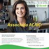 O Sicredi oferece aos associados da ACAIC um pacote de soluções financeiras e ainda:  - boletos a partir de R$ 1,80;   - 9 meses de isenção de maquineta/com taxas de antecipação e mdr diferenciadas;  - 10% de desconto no crédito na taxa de balcão para linha de investimento empresarial (sujeito à aprovação de crédito)  - Ted/Doc a partir de R$ 3,00 pelo pagfor.