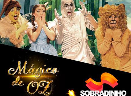 Mágico de Oz vai encantar a criançada no dia 07 de março