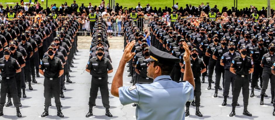 500 novos soldados para a PMERJ
