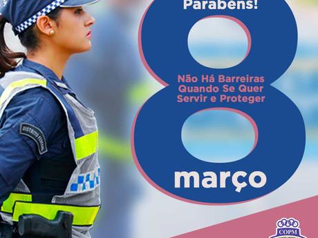 Mulheres Policias provam que não há barreiras quando se quer servir e proteger