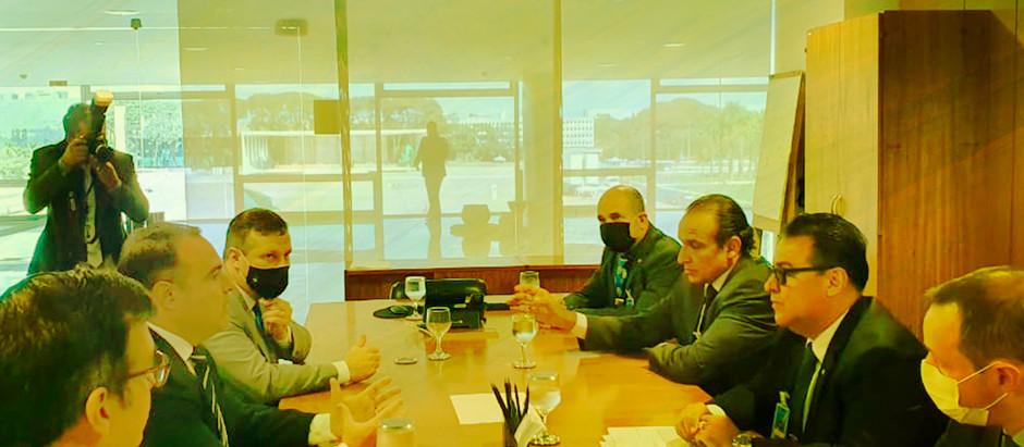 Volta do Ministério da Segurança Pública e Indicação de Fraga para o comando foram pauta de reunião