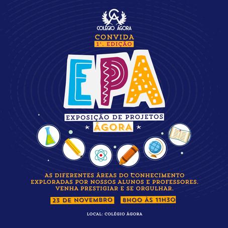 Venha se orgulhar com os Projetos da 1ª EPA