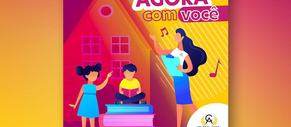 """Projeto """"Ágora com Você"""" vai levar professoras até a casa dos alunos"""