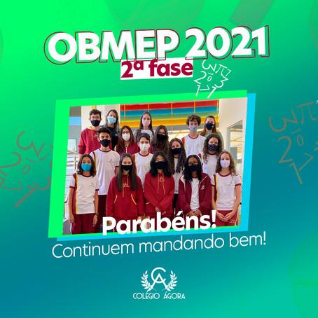Estamos na segunda fase do OBMEP21!